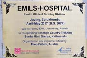 Emil's Hospital in Juving
