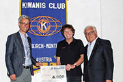 Spende Kiwanis Club Feldkirch-Montfort